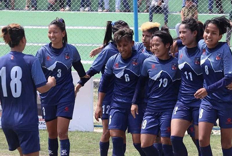 नेपाली महिला भालिबल टोली ८६ औं स्थानमा