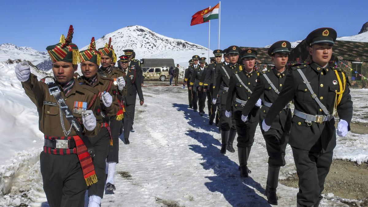 चिनिया नियन्त्रणमा रहेका भारतीय सैनिक रिहा