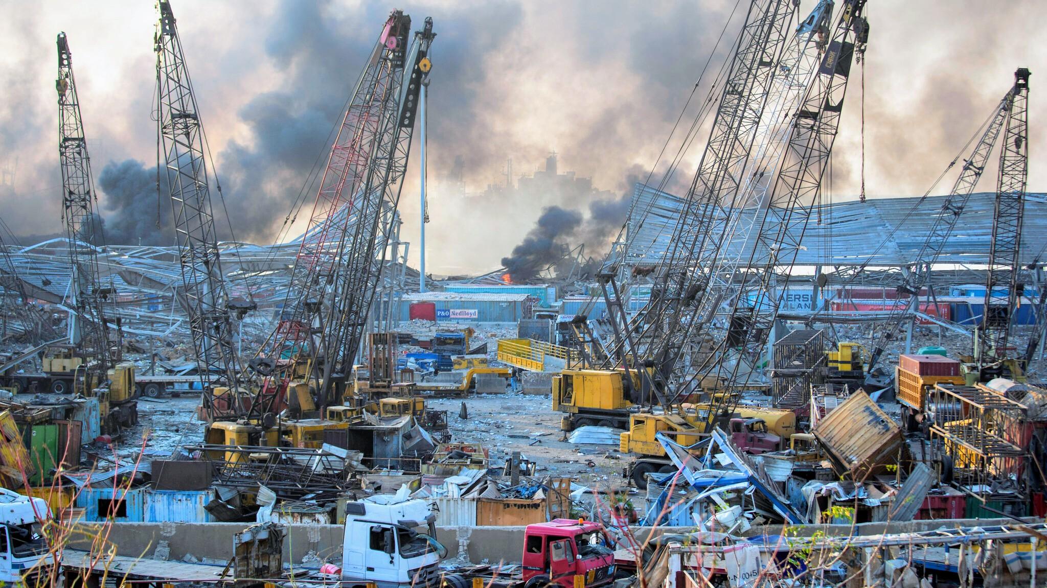 बेरुत विस्फोट : १ सय ३५ जनाको मृत्यु, नेपाली सुरक्षित
