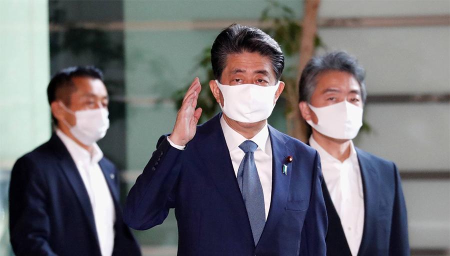 स्वास्थ्यमा समस्या आएपछि जापानका प्रधानमन्त्रीद्वारा राजीनामा
