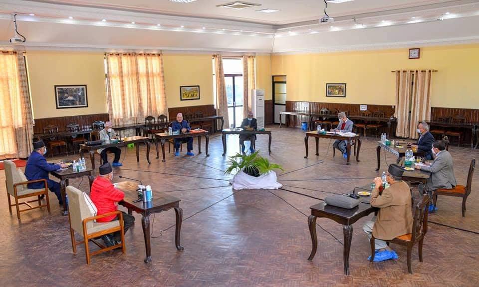 नेकपा सचिवालय बैठक बालुवाटारमा सुरु, अध्यक्ष ओली पनि सहभागी