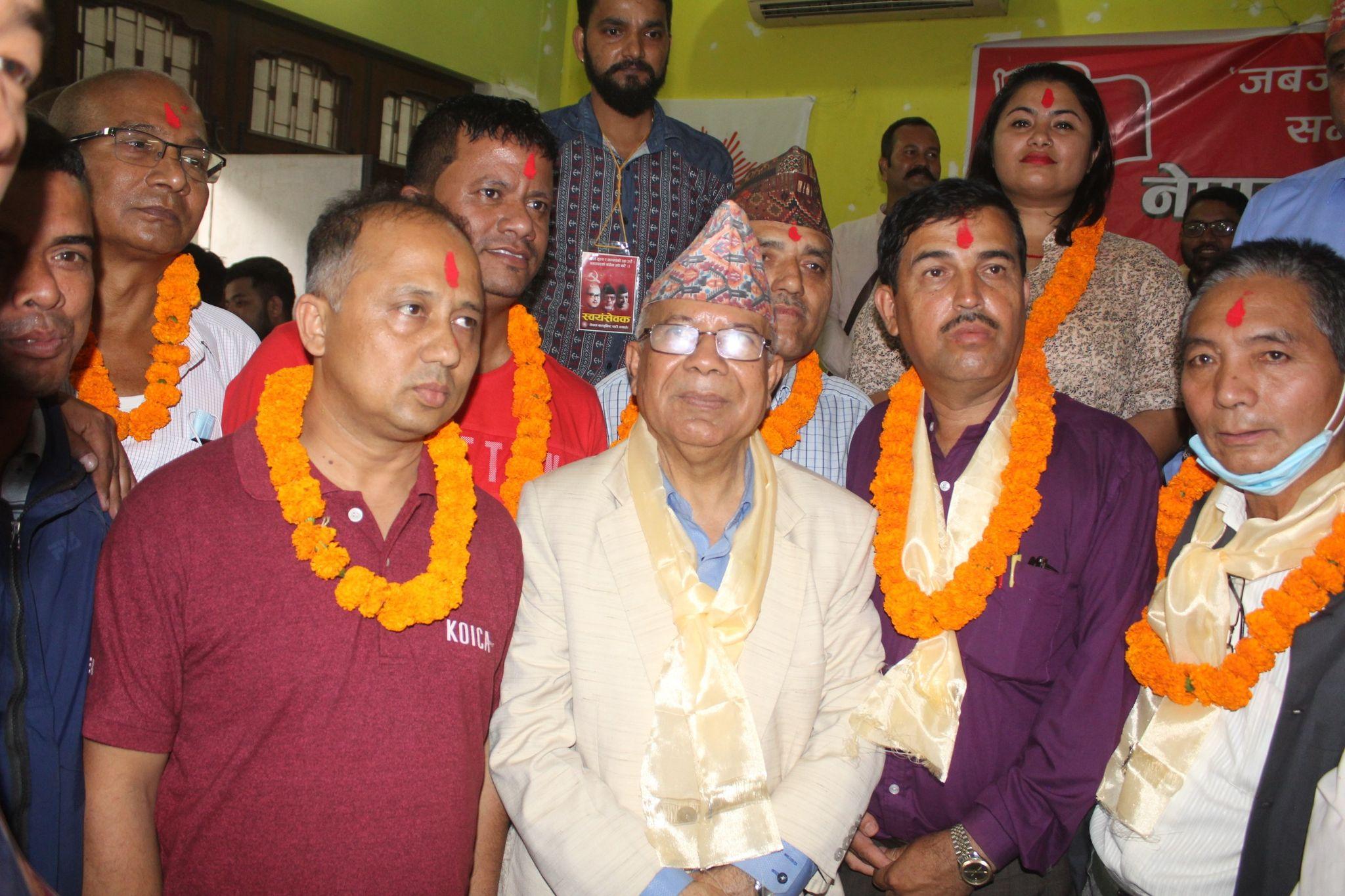 मोरङ र विराटनगर महानगरमा माधव नेपाल समूहको समानान्तर कमिटी
